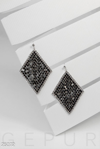 Women's earrings-chainmail  photo 1