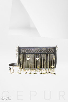 Women's decorated clutch bag  photo 1