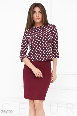 Business attire polka dot  photo 1