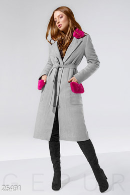 Stylish demi-season coat photo 1
