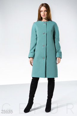 Concise cashmere coat  photo 1