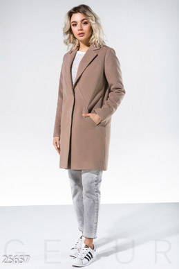 Winter cashmere coat  photo 1