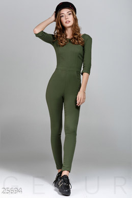 Women's stretch jumpsuit photo 1