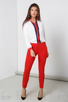 Classic tapered trousers  photo 1