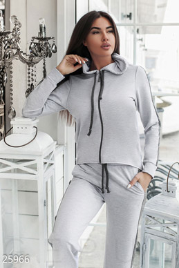 Asymmetrical tracksuit  photo 1