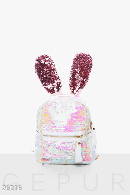 Backpack with ears  photo 1