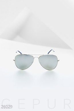 Mirrored sunglasses Aviator photo 1