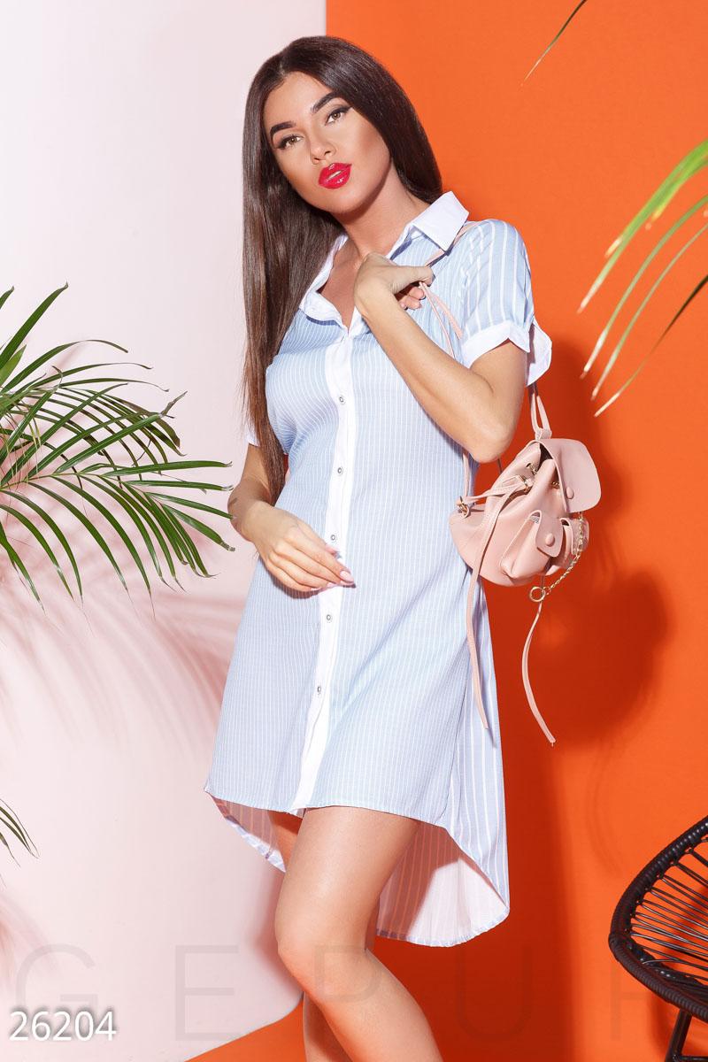 New Летнее платье-рубашка