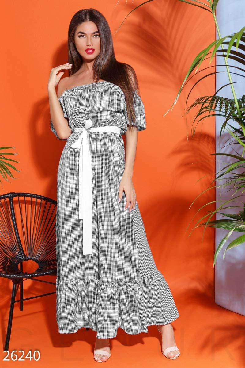 New Длинное летнее платье