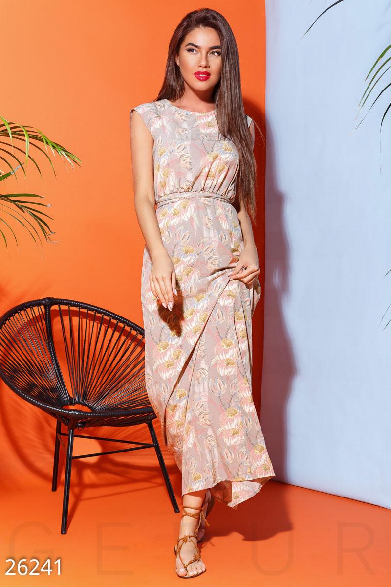 New Пастельное летнее платье