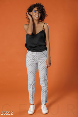 Trend cropped pants photo 1