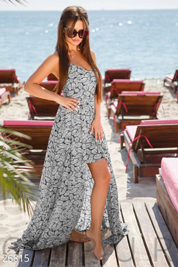 Unusual summer dress  photo 1