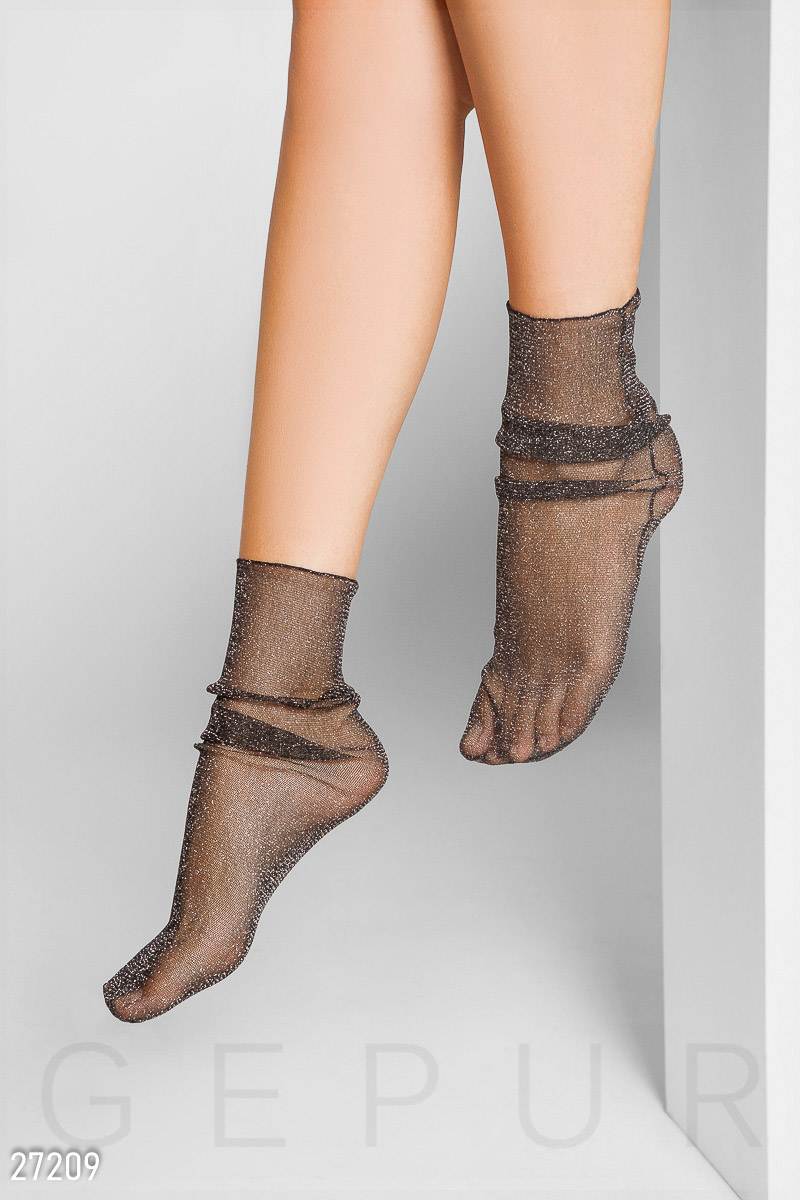 54fc326d62f22 Капроновые носки с люрексом - купить в Украине и России | GEPUR