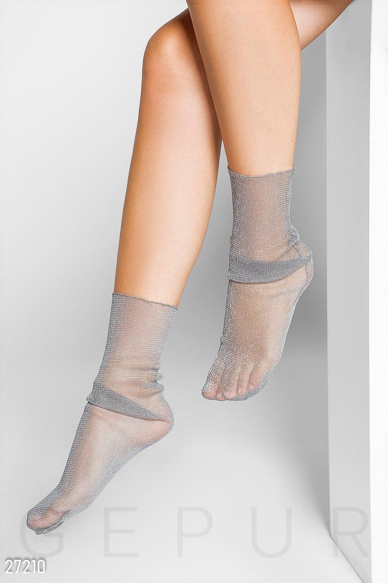Носки с люрексом