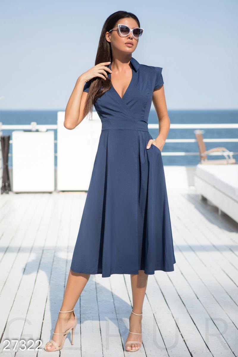 db651422081baa3 Струящееся летнее платье - купить оптом и в розницу   GEPUR