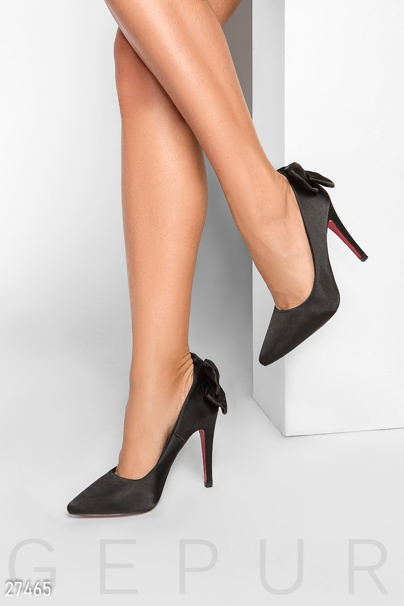 bc765a73118d63 Елегантні атласні туфлі - купити оптом і уроздріб | GEPUR