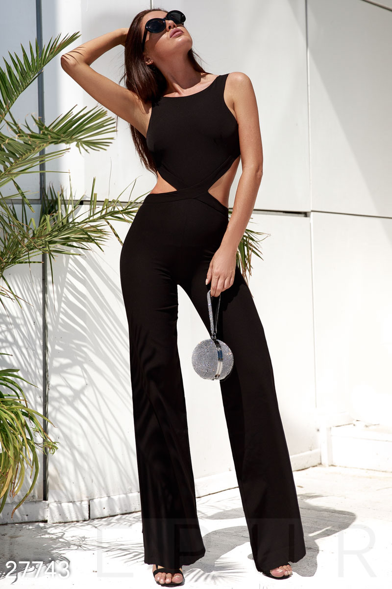 Outdoor evening party jumpsuit