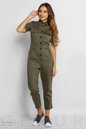 Jumpsuit with stripes  photo 1