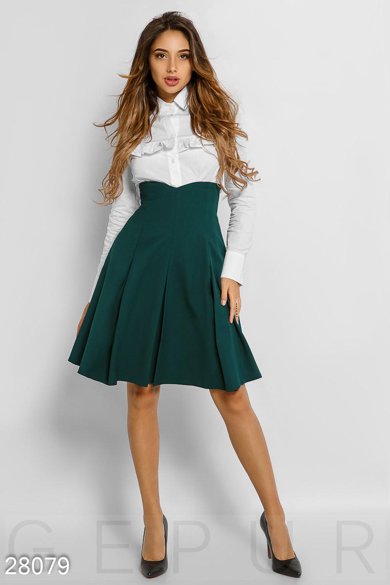 Изящная офисная юбка