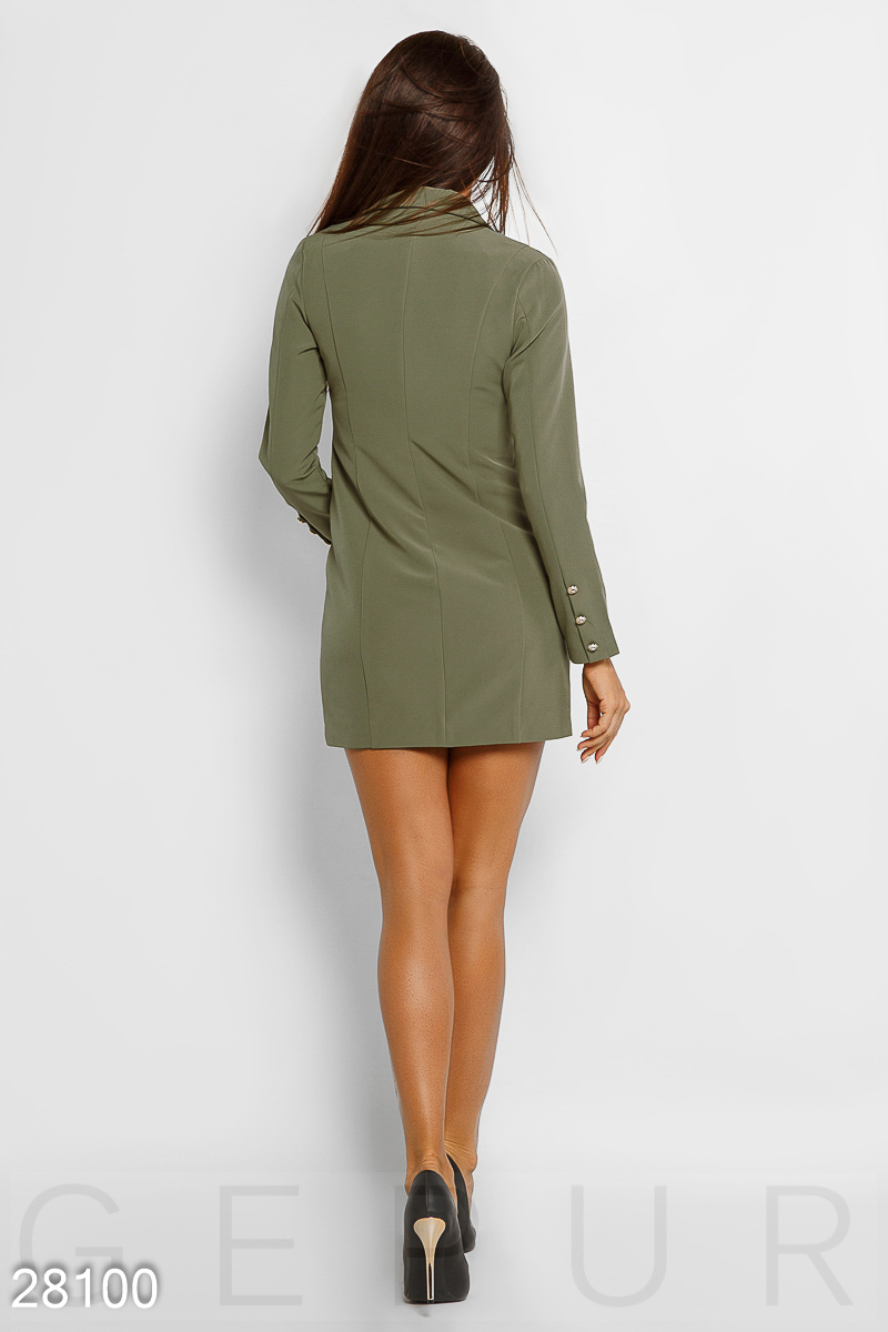 Double breasted dress jacket Green 28100