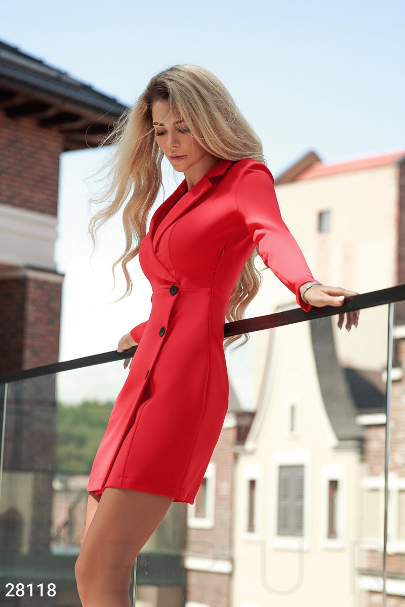 Elegant dress jacket Red 28118