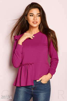 Raglan sleeve ruffle  photo 1