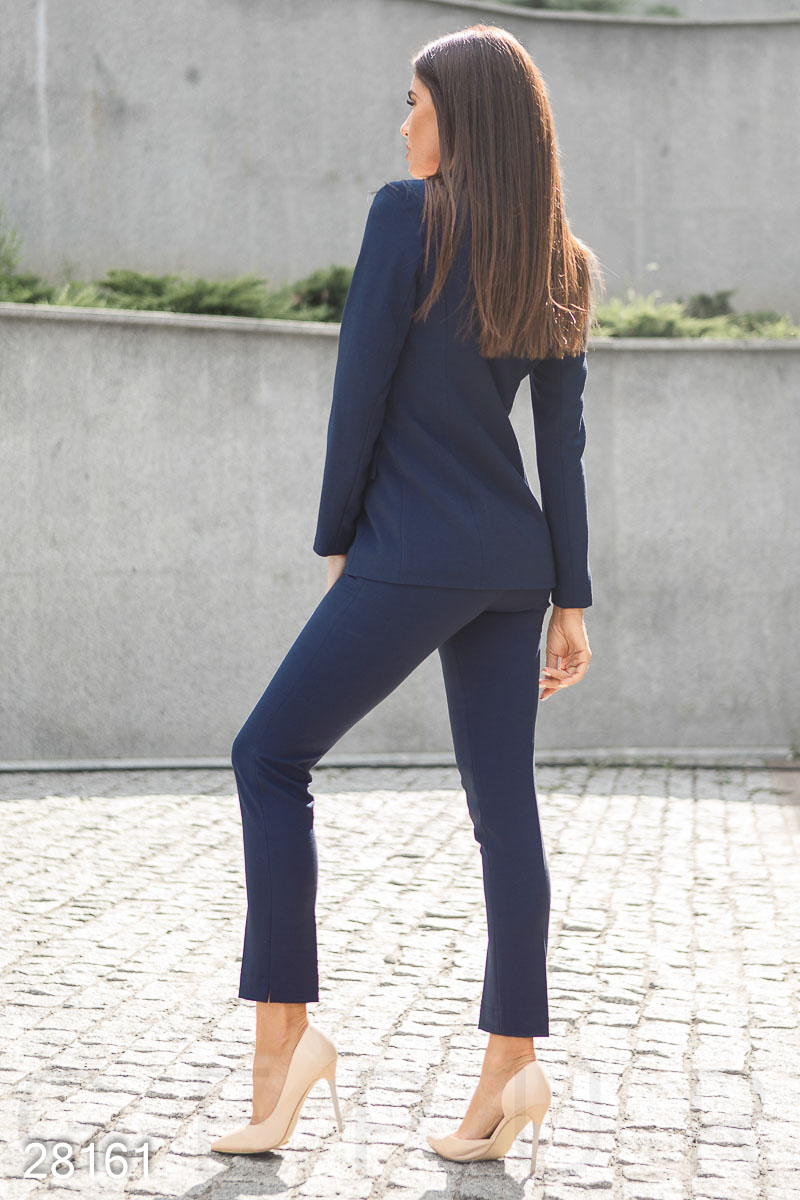 High office pants Blue 28161