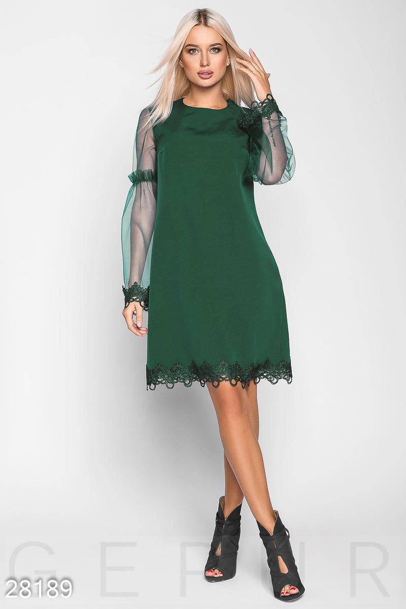 4b7d4d869c2e09 Сукні з прозорим рукавом - купити оптом і уроздріб   GEPUR