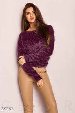 Fluffy womens jumper  photo 1