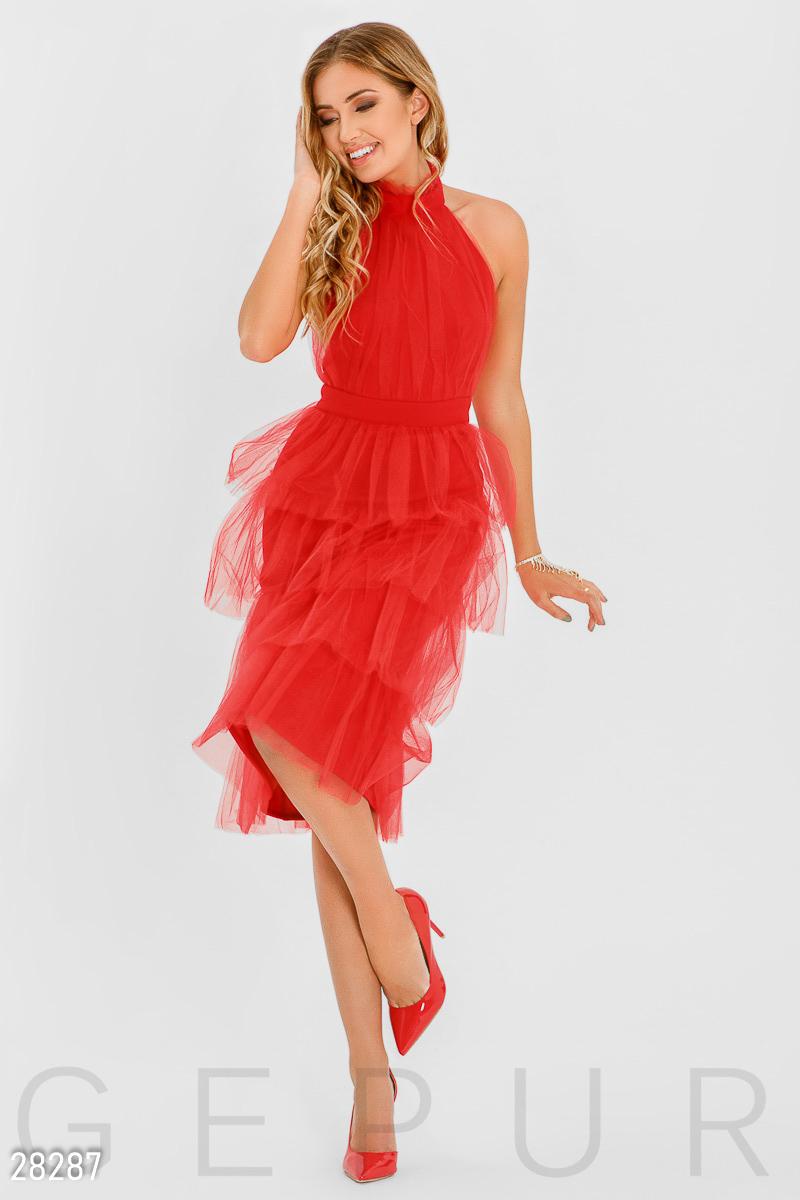 e0e7236a874b473 Вечернее платье с фатином - купить оптом и в розницу   GEPUR