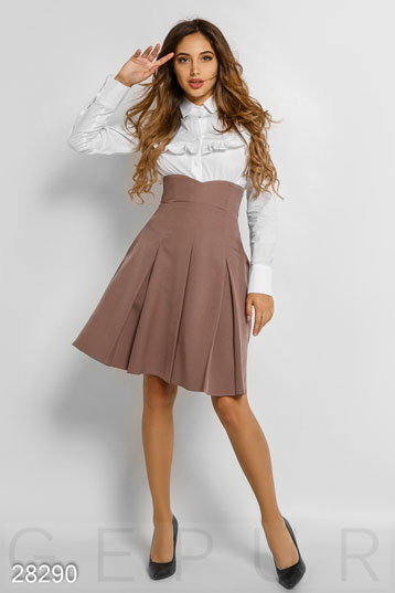 Skirt with high waist photo 1