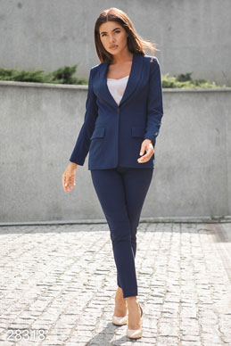 Slim business jacket photo 1