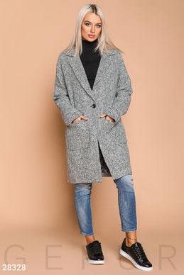 305f92f2 Купить пальто серого цвета по низкой цене в Украине и России | GEPUR