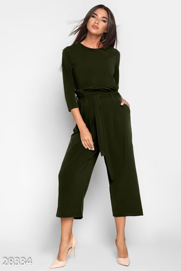 Business jumpsuit culottes photo 1