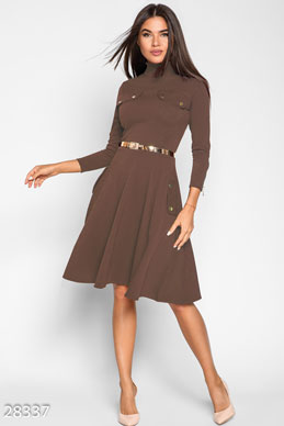 Silhouette women's dress photo 1