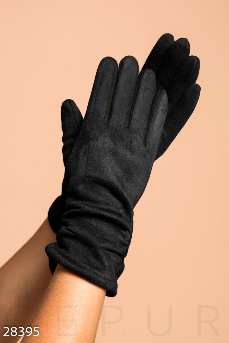 Мягкие демисезонные перчатки