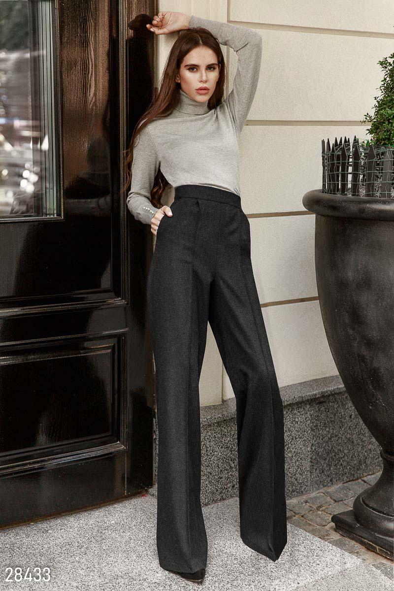Классические брюки-палаццо 28433