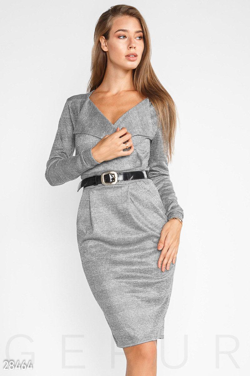 NEW Облегающее трикотажное платье