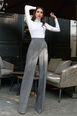 Wool Palazzo pants photo 1