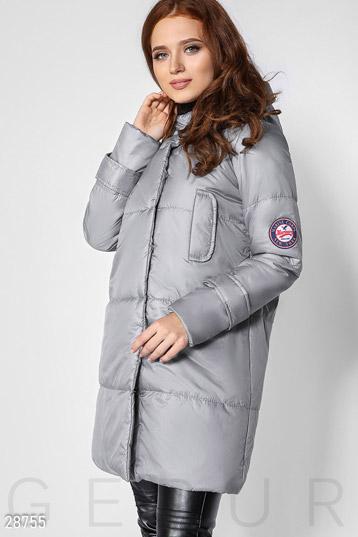 92dc0953684 Купить пальто серого цвета по низкой цене в Украине и России