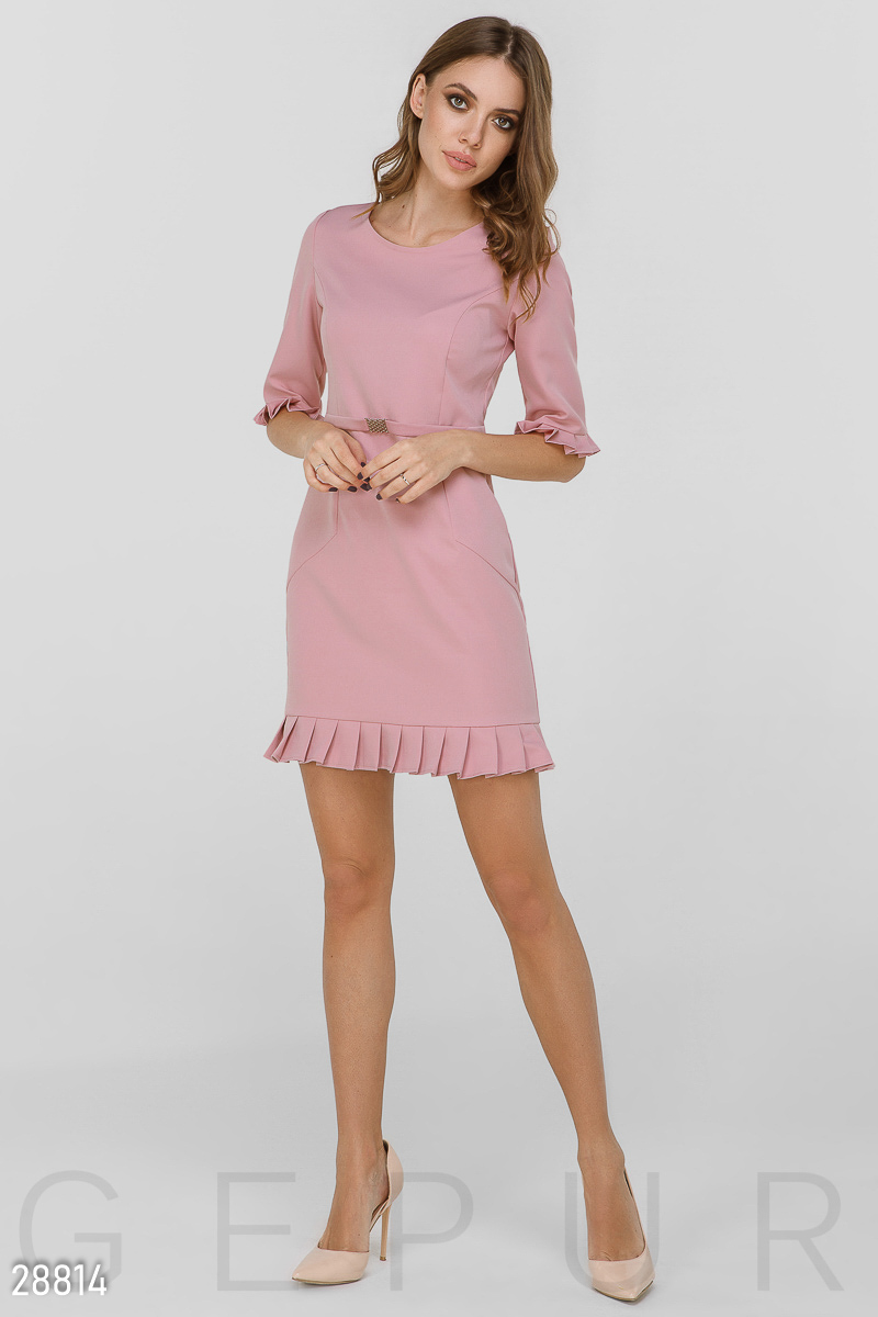 Dress style in the office Pink 28814