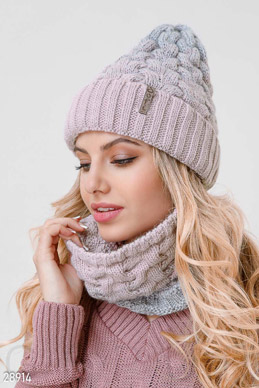 Winter knitted set  photo 1