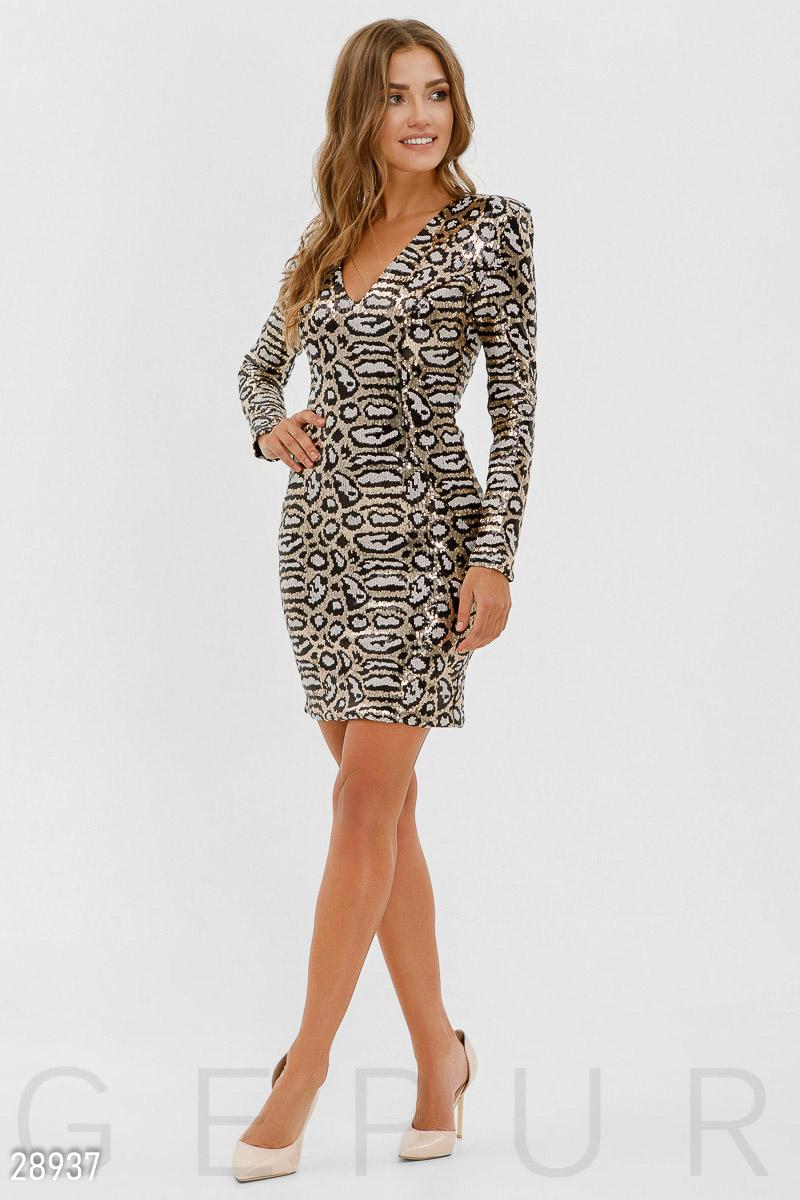 7d51605f40fdeef Вечернее платье с пайетками - купить оптом и в розницу | GEPUR