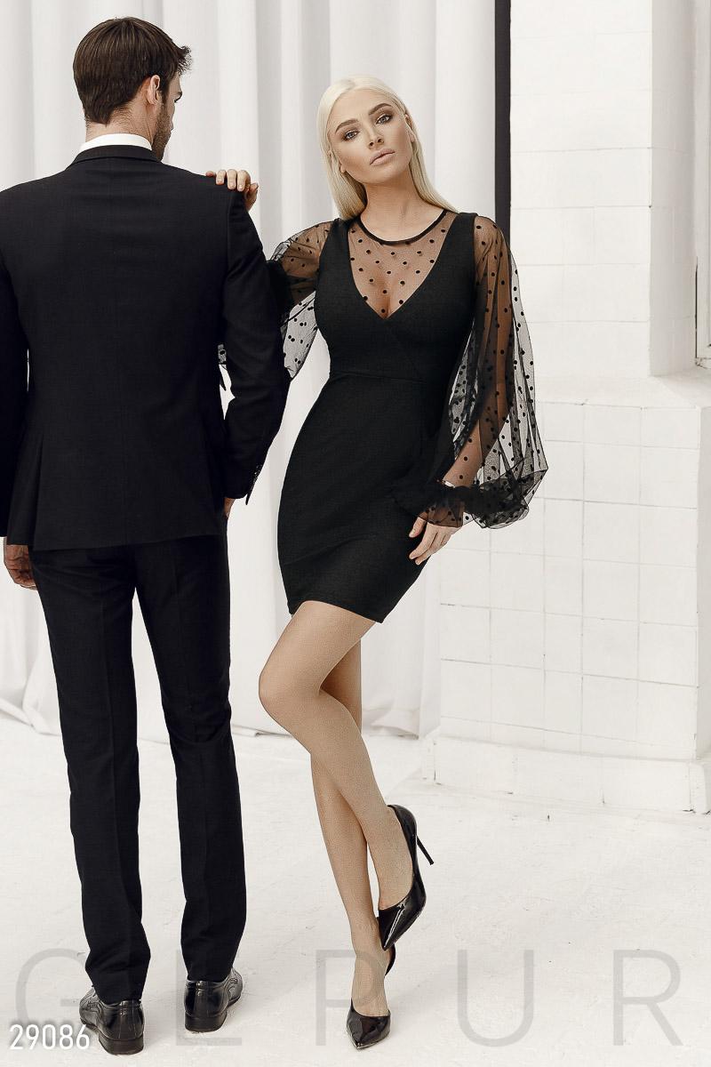 ae2d5c5a170 Платье с пышными рукавами - купить оптом и в розницу