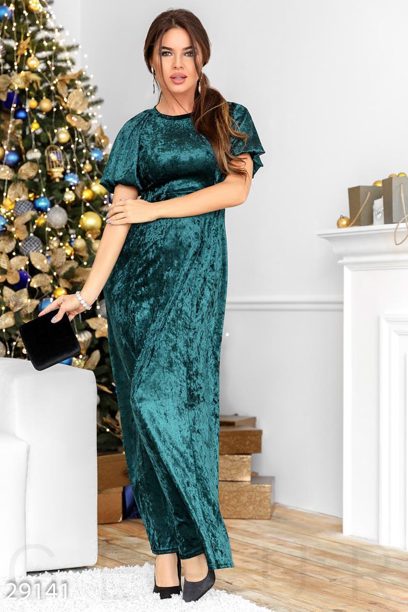 Классическое платье-макси 29141