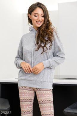 Soft knit sweatshirt photo 1