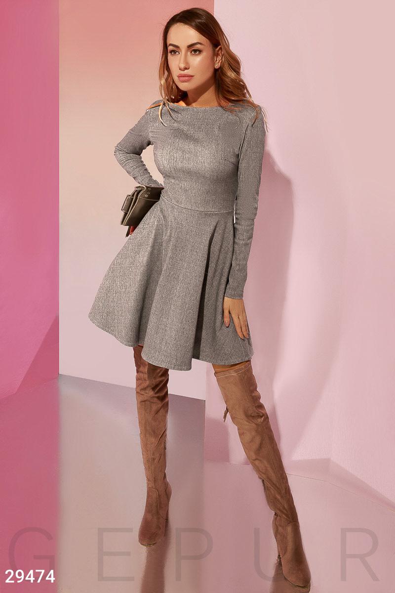 Лаконичное платье-мини 29474