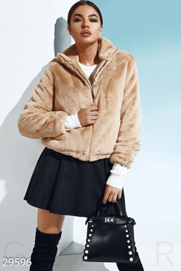 Fur jacket photo 1