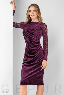 Evening velvet dress  photo 1