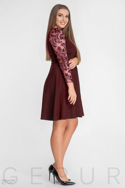 Flared MIDI dress photo 1